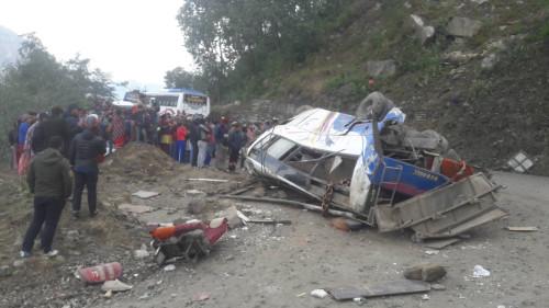 दुर्घटनामा मृत्यु भएका १४ मध्ये १२ जनाको सनाखत (अपडेट)