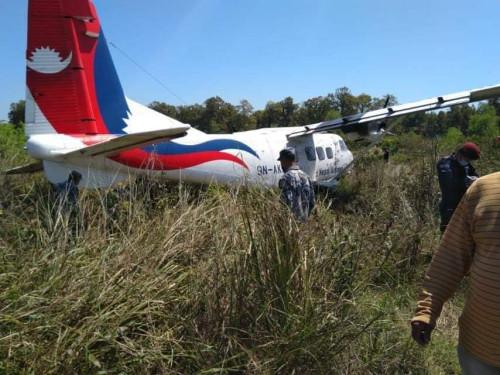 कोरोना टेस्ट कीट लिन गएको विमान नेपालगञ्जमा दुर्घटनाग्रस्त