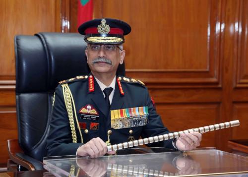 भारतीय सेना प्रमुख नरावणे कार्तिक १९ गते नेपाल आउने